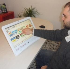 FABULA ALL-IN-ONE: tastiera per disabili per comunicazione aumentativa