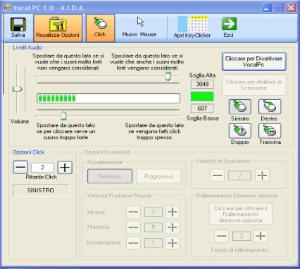 ausilio informatico per bambini disabili: VocalPC