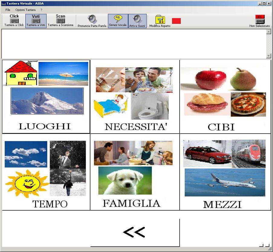 Favoloso Comunicazione Aumentativa CAA: schede d'esempio PL61