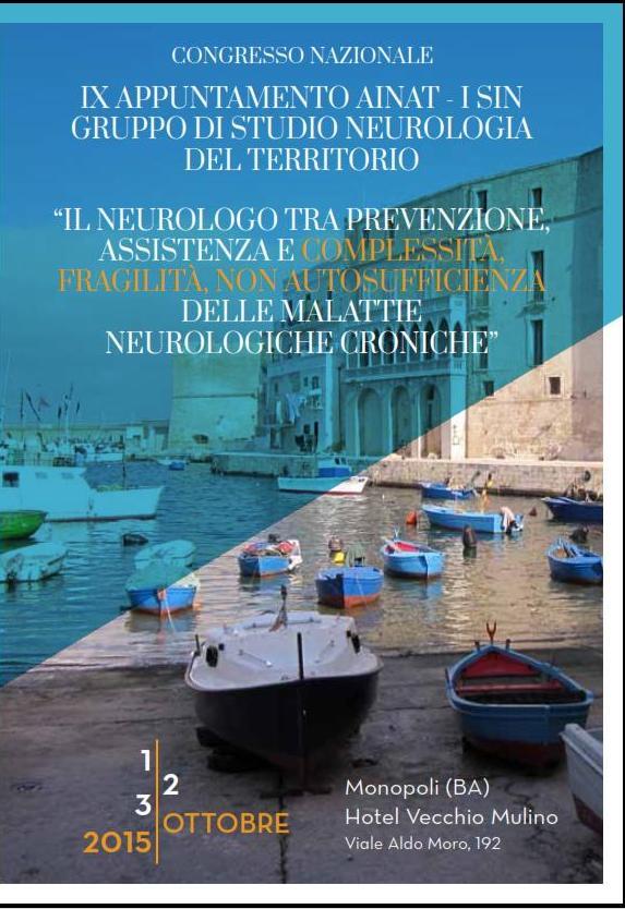 ausili comunicazione malattie neurodegenerative al congresso AINAT 2015