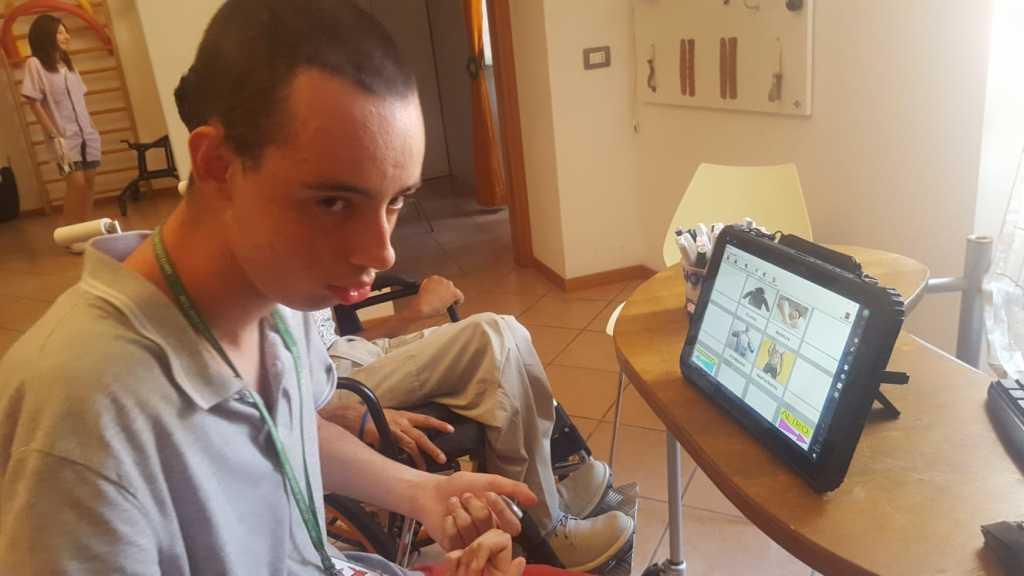 tablet per comunicare fabula