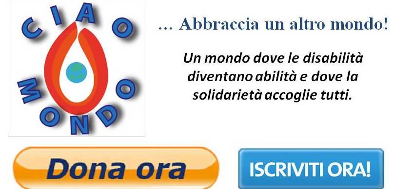Progetto CiaoMondo - iscriviti o dona